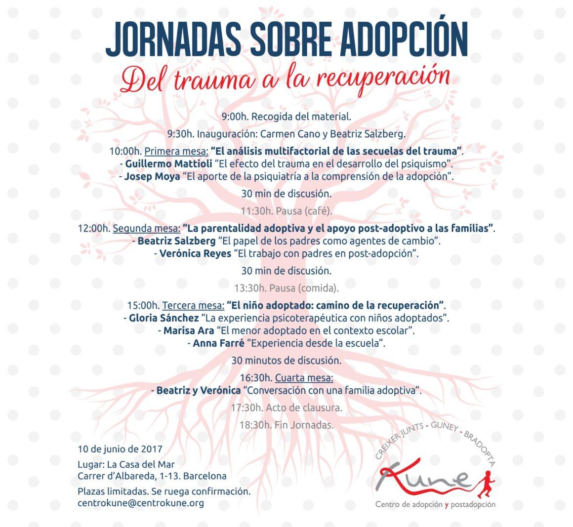 JORNADAS ADOPCIONES BARCELONA 10 DE JUNIO 2017