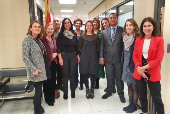 Visita de la Autoridad Central de República Dominicana