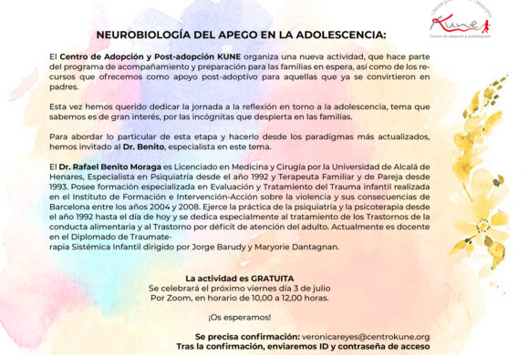 Neurobiología del apego en la adolescencia (video)